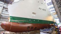 Irský trajekt W. B. Yeats v německé loděnici. Autor: Irish Continental Group