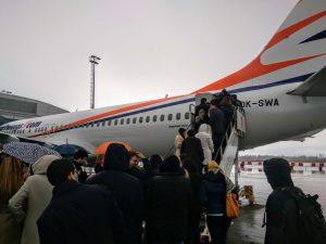 Představení nového 737 MAX 8. Foto: Jan Sůra