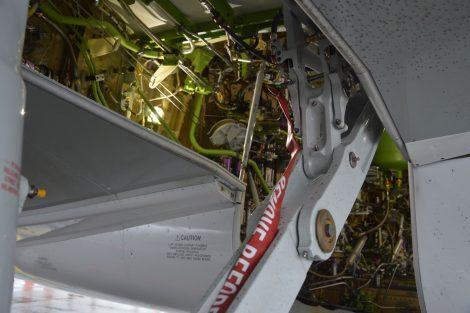 Detail uložení podvozku. Foto: Jan Sůra