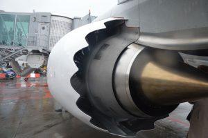 Boeing 737 MAX 8 je vybaven novým typem motorů LEAP-1B CFM. Foto: Jan Sůra