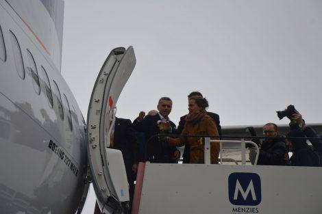 Šéf Travel Service Roman Vik a tenistka Barbora Strýcová. Foto: Jan Sůra