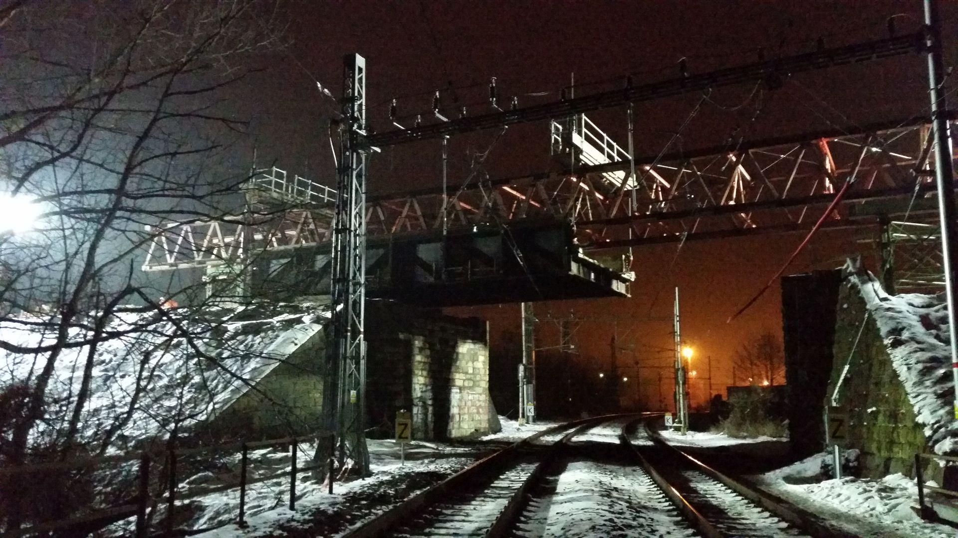 Demontáž Dluhonských mostů v Přerově. Foto: Přerov