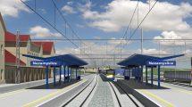 Vizualizace stanice Nezamyslice po modernizaci. Foto: SŽDC