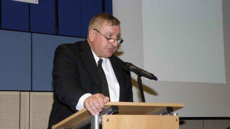 Pavel Surý na železniční konferenci. Foto: SŽDC