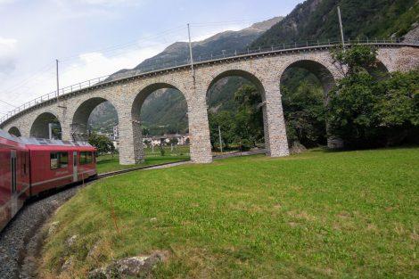 Viadukt v Brusiu. Foto: Jan Sůra