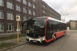 Elektrobus SOR v Berlíně. Autor: SOR