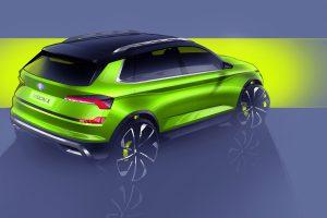 Studie Škoda Vision X. Nový městský crossover má vyjet příští rok. Foto: Škoda Auto