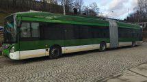 Trolejbus Škoda 35Tr s karosérií Iveco. Autor: Škoda Electric