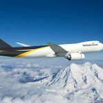 Boeing 747-8F v barvách UPS. Foto: Boeing