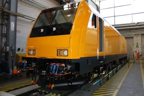 Lokomotiva Bombardier Traxx pro RegioJet ve výrobním závodě v Kasselu. Foto: RegioJet