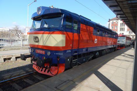 Lokomotiva řady 749, zvaná Bardotka. Autor: Zdopravy.cz/Jan Šindelář