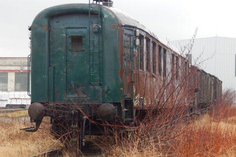 Stavební vlak (bauzug), Struhařov. Autor: Zdopravy.cz