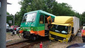 Nehoda na přejezdu, ilustrační foto. Autor: Drážní inspekce