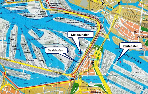 Česká území v Hamburku. Pramen: ŘVC
