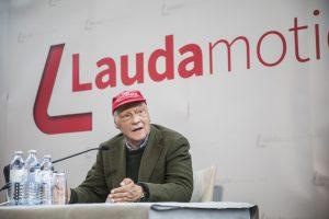 Niki Lauda představuje novou éru Laudamotion. Foto: Laudamotion