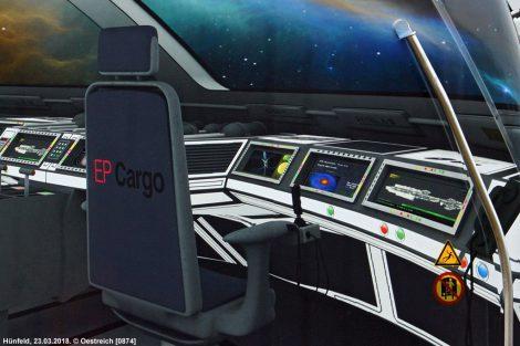 Nový Traxx pro EP Cargo. Venkovní nátěr.Autor: Oestreich