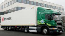 Kamion DB Schenker na CNG. Autor: DB Schenker
