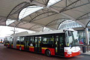 Trolejbus v Hradci Králové. Foto: DPMHK