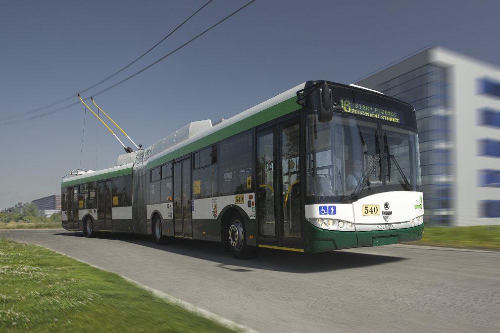 Trolejbus 27 Tr z produkce Škody Electric. Foto: Škoda Electric.