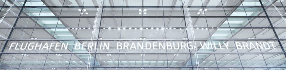 Letiště Berlin Brandenburg International. Foto: www.airport-berlin.de