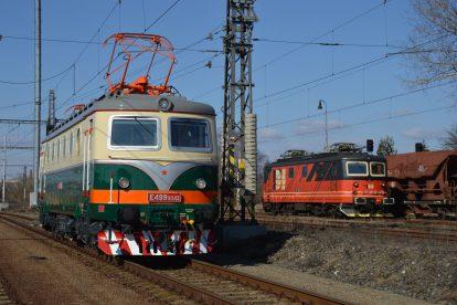 Lokomotiva se nejprve vydala na zkušební jízdu z Přerova do Starého Města u Uherského Hradiště. Foto: IDS Cargo