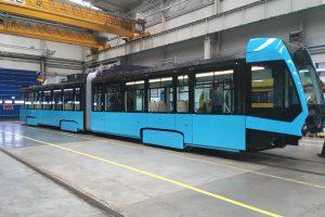 Tramvaj Stadler nOVA pro Dopravní podnik Ostrava. Foto: DPO