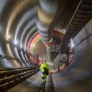 Stavba tunelu Ejpovice. Foto: Metrostav