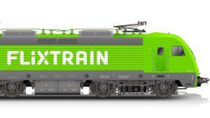 Vlaky FlixTrain budou ve firemní barvě Flixbusu. Foto: FlixTrain