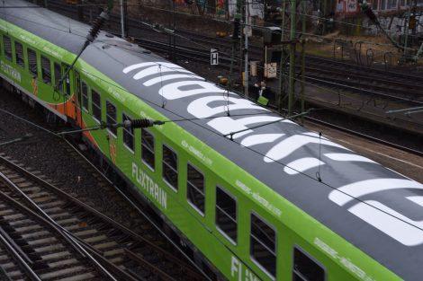 FlixTrain vyjel na svoji první jízdu 23. března 2018 z nádraží Hamburg Altona. Foto: FlixTrain