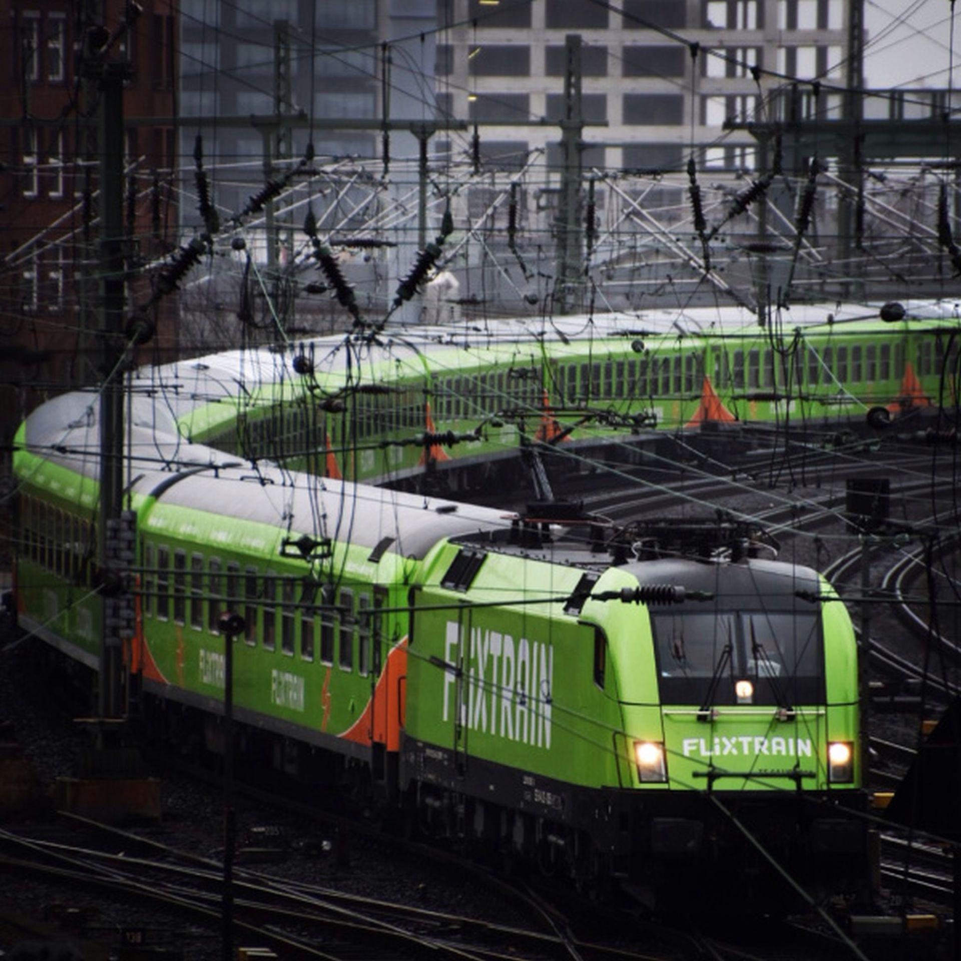 Prvním vlakem FlixTrain jelo kolem 500 lidí. Foto: FlixTrain