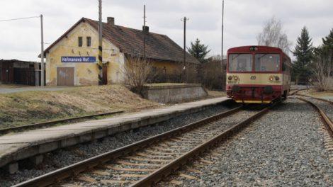 Stanice Heřmanova Huť. Foto Mef.ellingen/Wikimedia Commons