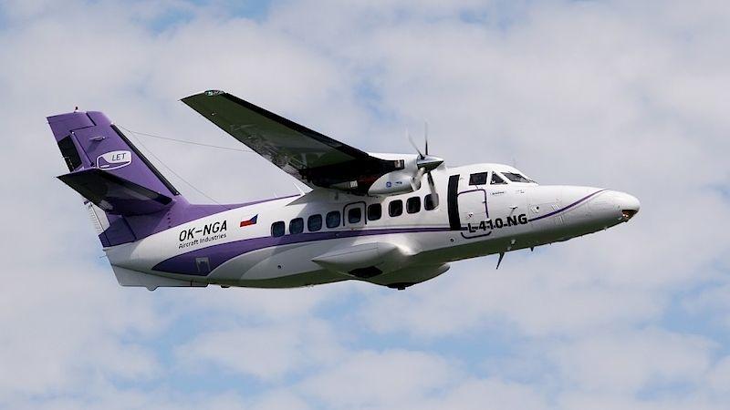 Nové letadlo L410 NG. Foto: Aircraft Industries