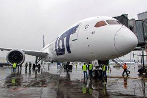 Boeing 787-9 Dreamliner v barvách polského dopravce LOT. Foto: LOT