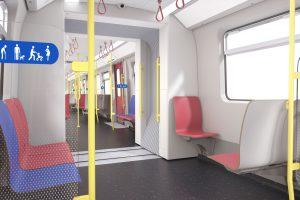 Šestivozové soupravy jsou plně průchozí. Foto: Siemens