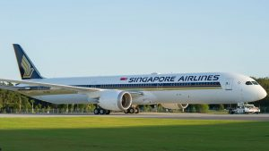 Boeing 787-10. Foto: Singapore Airlines
