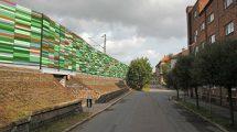 Návrh na podobu protihlukových stěn v České Třebové. Foto: SŽDC