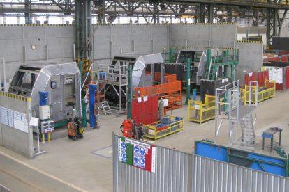 Výroba kabin v závodě v polské Vratislavi. Foto: Bombardier