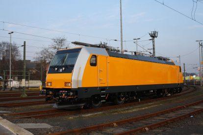 Po dokončení už absolvovala lokomotiva první testovací jízdy po německých kolejích. Foto: Bombardier
