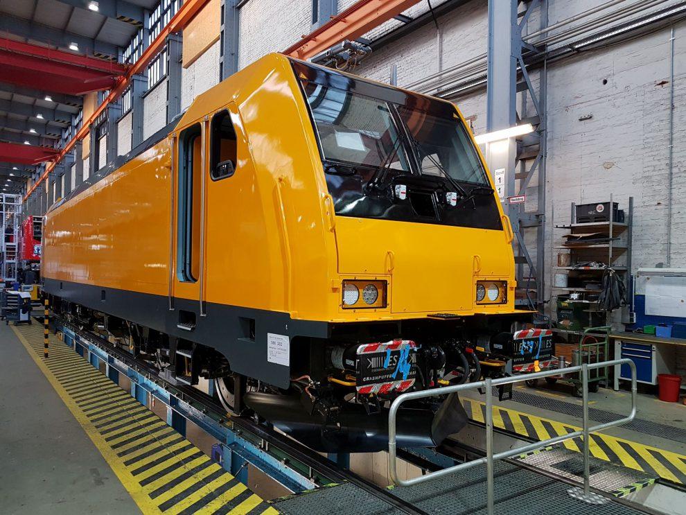 Traxx MS2 po dokončení montáže. Foto: Bombardier