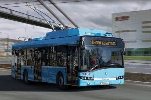 Trolejbus 26Tr pro Ostravu. Autor: Škoda Ele