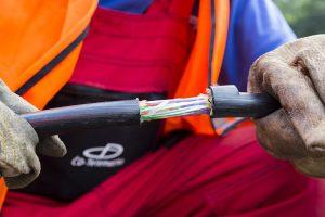 Metalický kabel, ilustrační foto. Autor: ČD Telematika