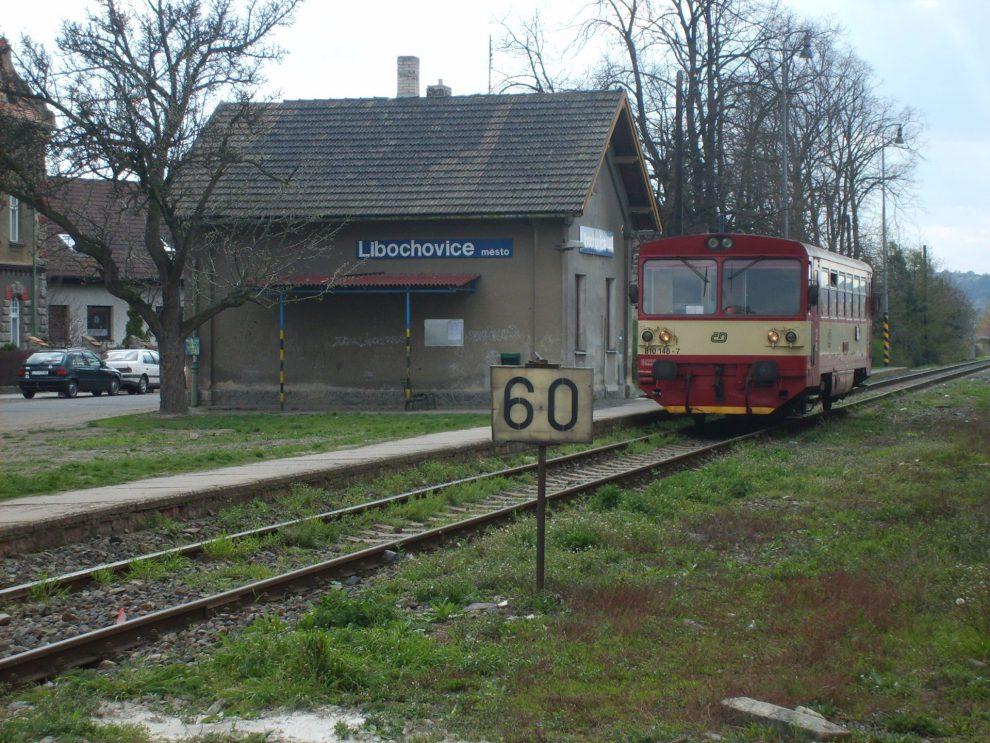 Stanice Libochovice - město. Foto: Vitmalinovsky /Wikimedia Commons