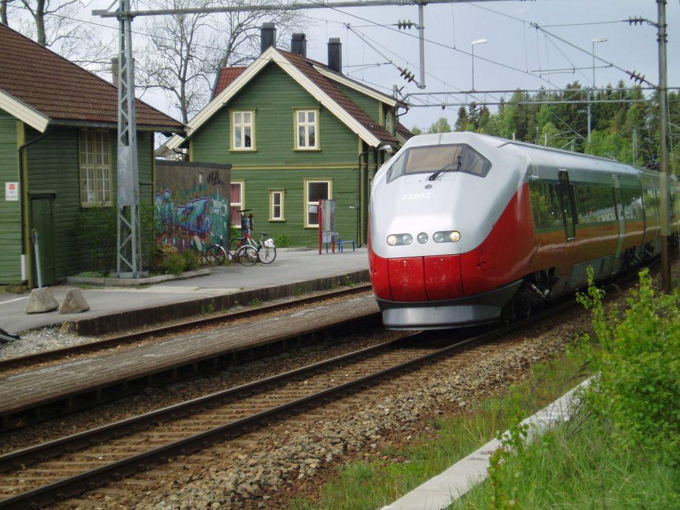 Norská železnice, ilustrační foto. Autor: Wikimedia Commons, Photo by JohnM