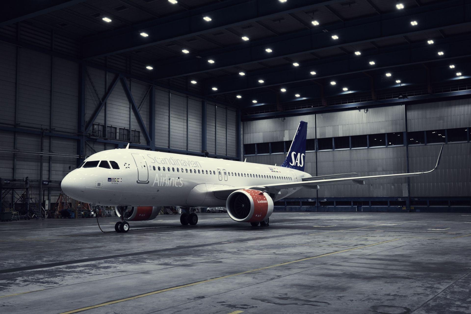 Současná podoba letadel SAS (A320neo). Foto: SAS