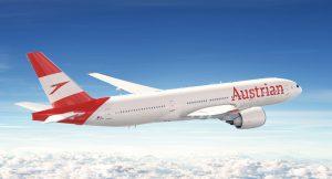 Nový nátěr s větším logem společnosti Austrian. Foto: Austrian