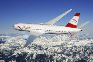 Boeing 777 ve stávajícím nátěru Austrian. Foto: Austrian