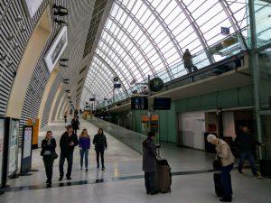 Nádraží TGV v Avignonu. Foto: Jan Sůra
