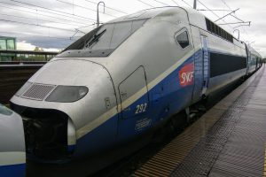 TGV v Avignonu. Foto: Jan Sůra