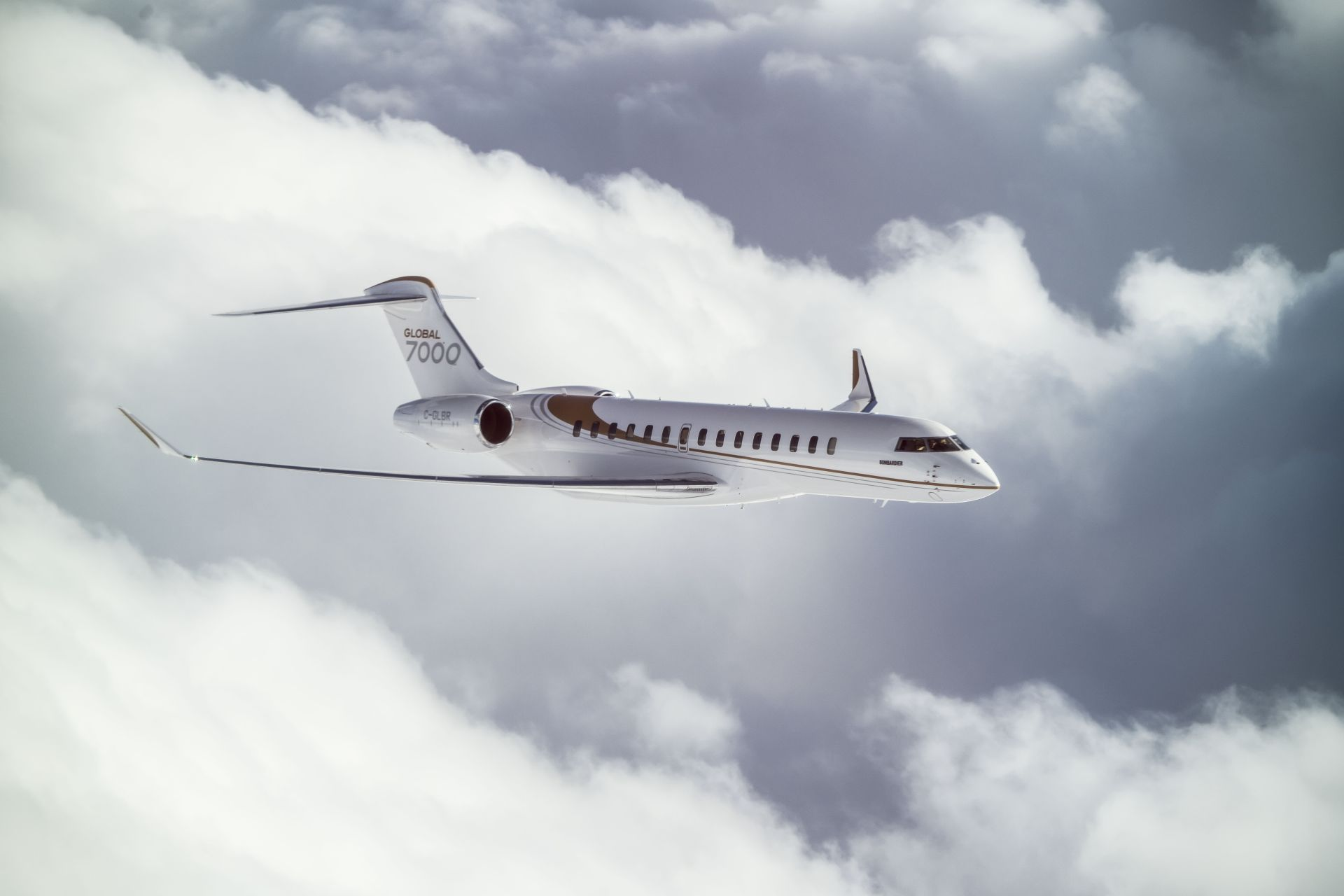 Global 7000. Foto: Bombardier