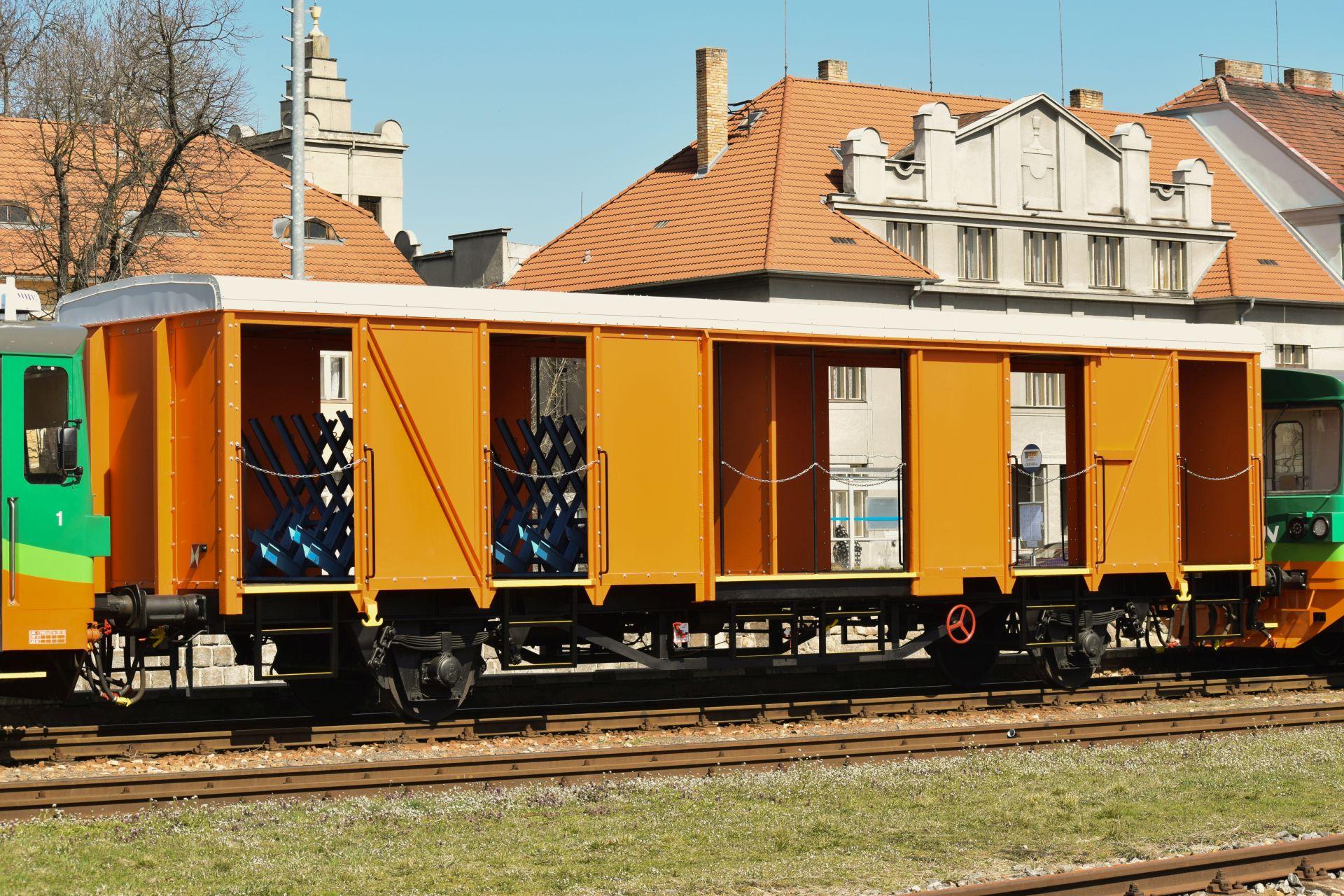 Cyklovůz GW Trainu. Autor: Jósef Rákos